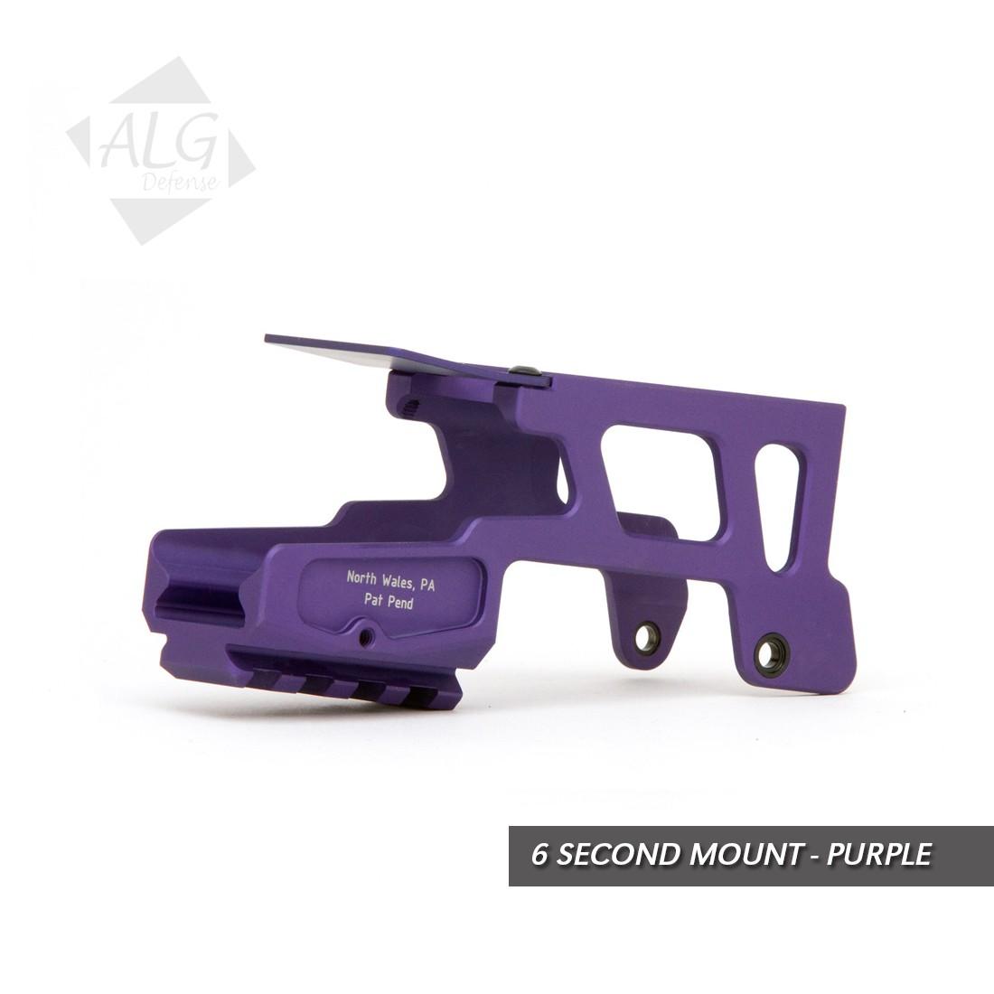 ALG Defense 6 Second Mount for G3 Glock 17, 22, 24, 31, 34, 35