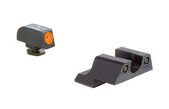 Trijicon HD Night Sight Set — Orange Front Outline — for Glock Model 42 and 43