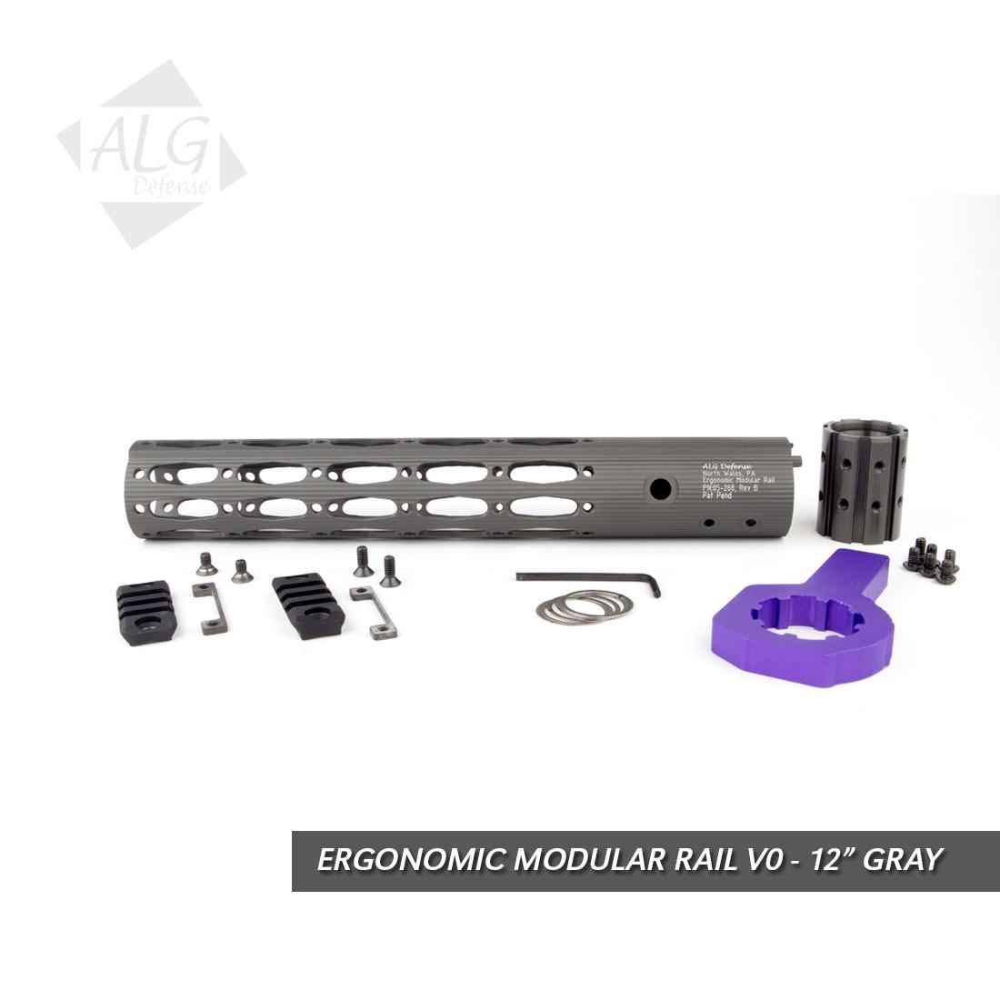 "ALG Defense Ergonomic Modular Rail 12"" (EMR) - V0"