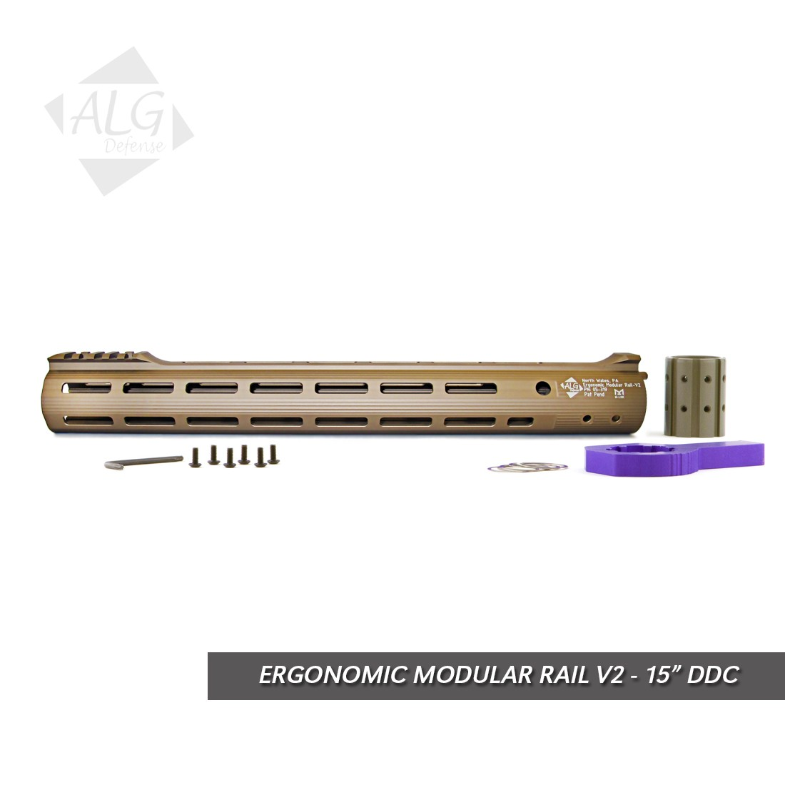 ALG Defense Ergonomic Modular Rail (EMR) V2 With M-LOK