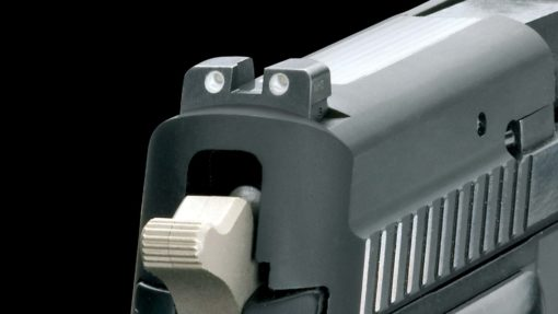 SIGLITE Night Sights Experience excellent target acqusition even in low light and poor visibility conditions.