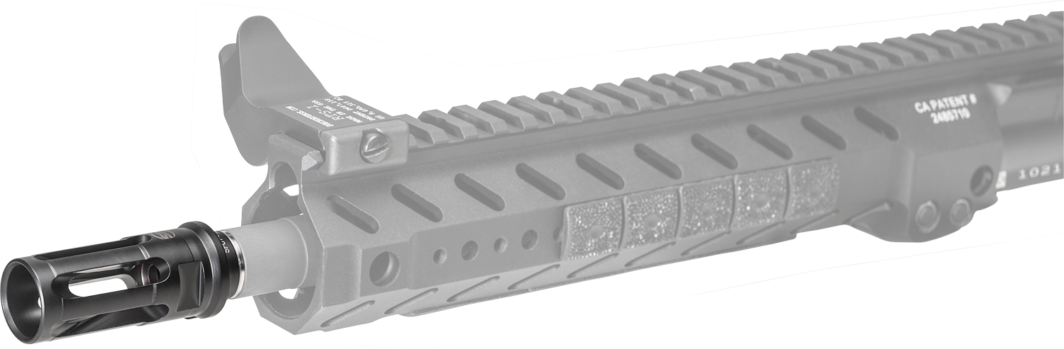 SureFire Warcomp Closed Tine Flash Hider For 5 56mm Rifles