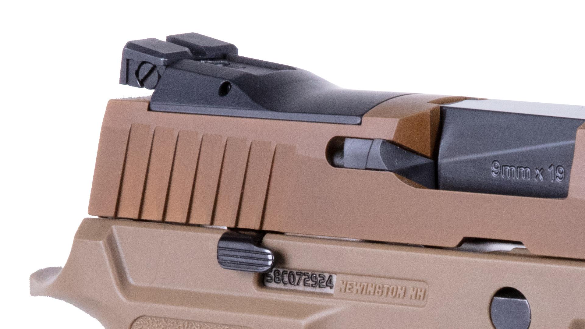SIG Sauer P320 XFive Coyote - 9mm
