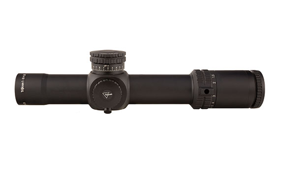 RS27-C-1900027: AccuPower® 1-8x28 Riflescope MOA Segmented Circle Crosshair w/Green LED, 34mm Tube