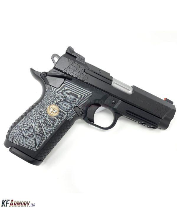 Wilson Combat EDC X9 - Grey/Black Grips - Actual Product