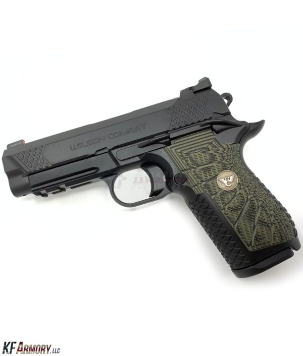 Wilson Combat EDC X9 - Dirty Olive Grips - Actual Product