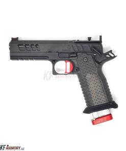 Atlas Gunworks Athena™ v2 Perfect Zero™ Pistol – Black/Red