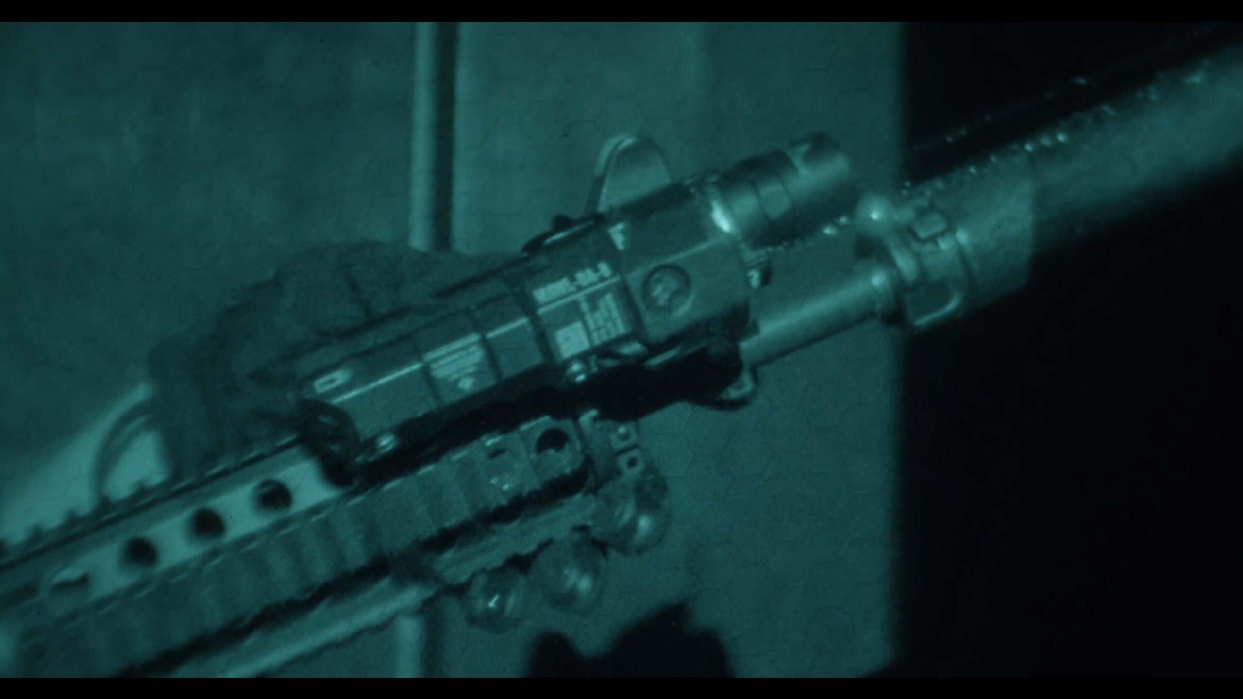 BE Meyers MAWL C1+ Promo Image - MAWL on Rifle