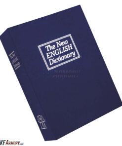 Bulldog Tactical Deluxe Diversion Book Safe - Blue