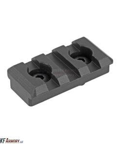 Midwest Industries 1913 Milspec Aluminum Rail Section, 3 Slot, M-LOK(TM) Compatible
