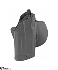 SafariLand Model 6378 ALS® Concealment Paddle Holster W/ Belt Loop - Right Hand - Plain Black - Fits Glock 17/22 with Insight M3 Light