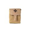 Blue Force Gear Trauma Kit NOW! Medium Molle Mount Advanced Kit Supplies - Coyote Brown