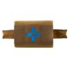 Blue Force Gear Micro Trauma Kit NOW! Complete Kit MOLLE Mount Advanced Kit Supplies - Coyote Brown